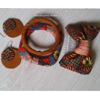 picture of ankara bangle set