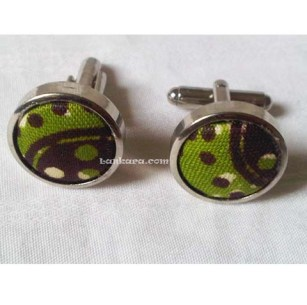 pictue of ankara CUFF LINKS
