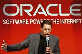 Larry Ellison  of Oracle