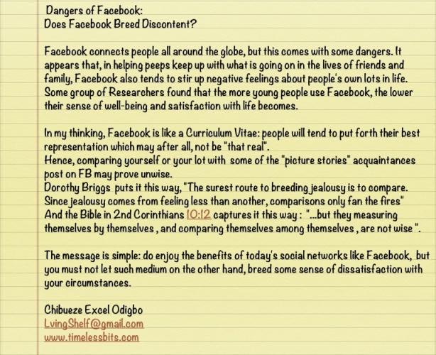 Danger des rencontres sur facebook