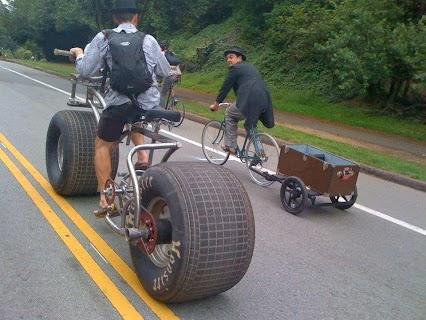 Interesting bicycle