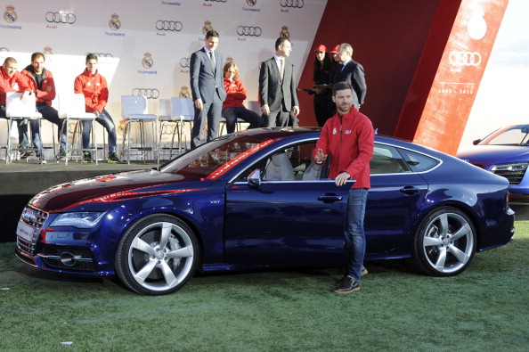 Real Madrid Players Receive New Audi Cars in Madrid