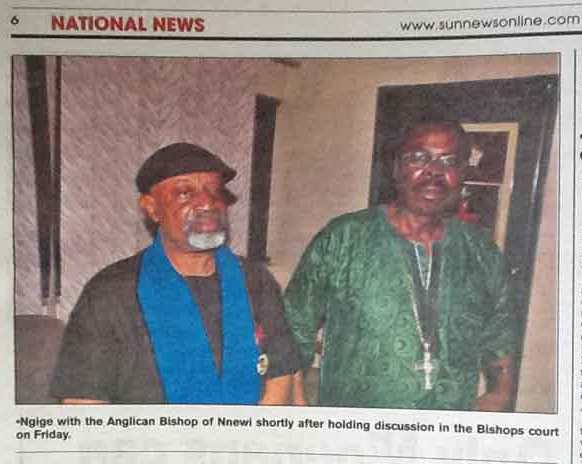 Chris Ngige and cleric