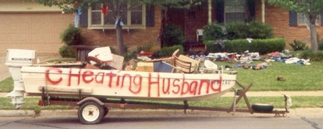 cheating husband