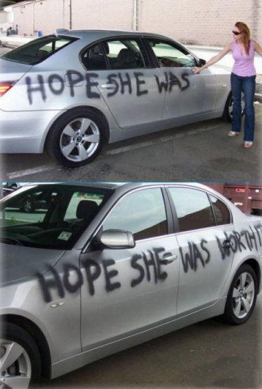 what a cheated wife did